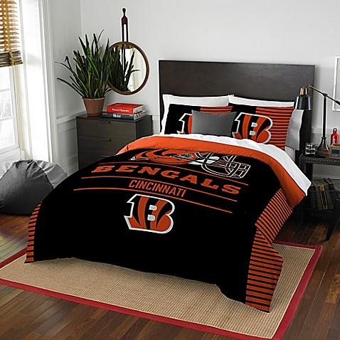 Nfl Cincinnati Bengals Draft Full Queen Comforter Set