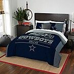 NFL Dallas Cowboys Draft Full/Queen Comforter Set