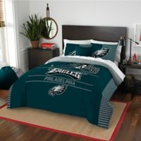 NFL Philadelphia Eagles Draft Full/Queen Comforter Set