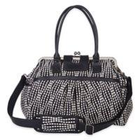 cac214edd29f Waverly® Baby by Trend Lab® Strands Tuxedo Framed Diaper Bag