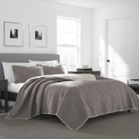 Eddie Bauer® Axis Full/Queen Quilt Set in Grey