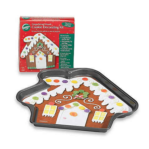 Wilton Gingerbread House Cookie Decorating Kit Bed Bath