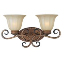 Maxim Lighting® Fremont 2-Light Wall Mount Vanity Light in Platinum