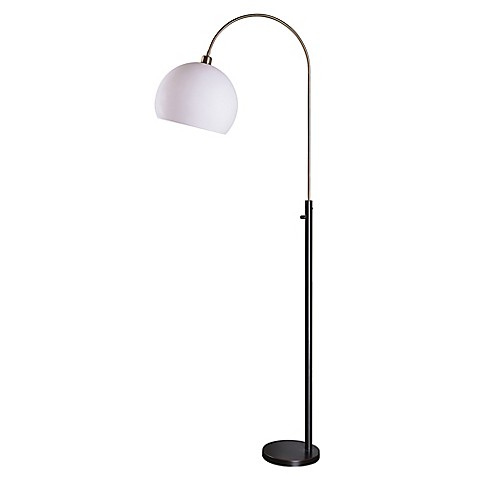Kenroy home gateway arc floor lamp