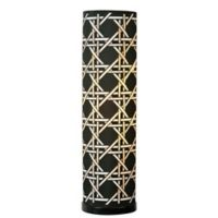 Kenroy Home Xavier Table Lamp in Black