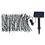 Kenroy Home 100-Light Solar Garden String Lights in Black