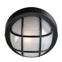 Kenroy Home Drift 1-Light Wall Lantern in Black