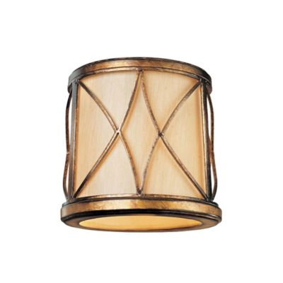 Buy gold lamp shades from bed bath beyond minka lavery aston court shade in gold aloadofball Image collections
