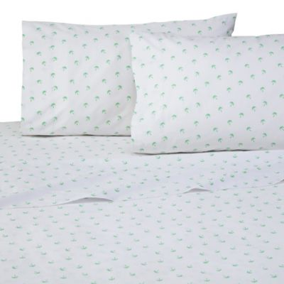 southern tide palms standard pillowcases set of 2