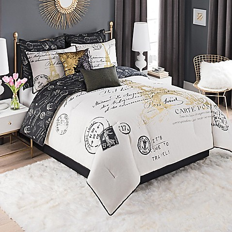 Paris Gold Comforter Set Bed Bath Beyond