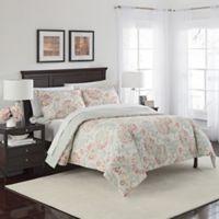Marble Hill Carlisle Reversible 3-Piece Queen Comforter Set