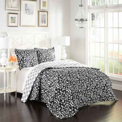 Marble Hill Hadley Reversible 3-Piece Comforter Set