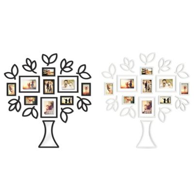 Wallverbs™ Open Leaf Tree 19-Piece Picture Frame Set