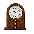 Bulova Hampton Table Clock