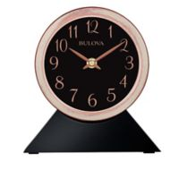 Bulova Port Jeff Wall/Desk Clock