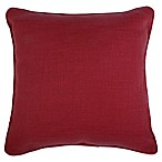 Make-Your-Own-Pillow Dana 20-Inch x 20-Inch Throw Pillow Cover in Garnet