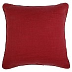 Make-Your-Own-Pillow Dana 20-Inch x 20-Inch Throw Pillow Cover in Red