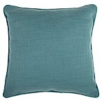 Make-Your-Own-Pillow Dana 20-Inch x 20-Inch Throw Pillow Cover in Teal