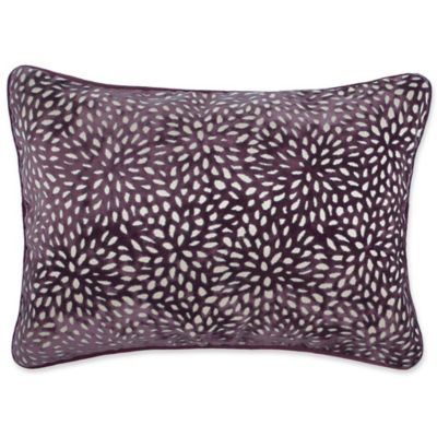 Genial Make Your Own Pillow Karst Oblong Throw Pillow Cover In Purple