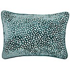 Make-Your-Own-Pillow Karst Oblong Throw Pillow Cover in Teal
