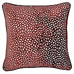 Make-Your-Own-Pillow Karst Square Throw Pillow Cover in Red