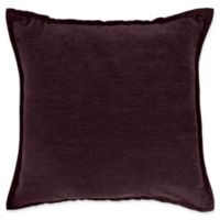 Make-Your-Own-Pillow Sola Chenille Square Throw Pillow Cover in Purple