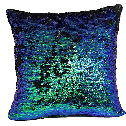 Throw Pillow Covers Bed Bath Beyond : Make-Your-Own-Pillow Mermaid Square Throw Pillow Cover - Bed Bath & Beyond