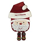 Little Me® Size 0-6M 3-Piece Christmas Hat, Bib and Bootie Set