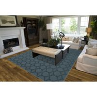 Garland Sparta 5-Foot x 7-Foot Area Rug in Seafoam