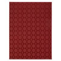 Garland Sparta 5-Foot x 7-Foot Area Rug in Chili Pepper