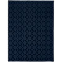 Garland Sparta 12-Foot x 12-Foot Area Rug in Navy