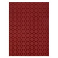 Garland Sparta 12-Foot x 12-Foot Area Rug in Chili Pepper