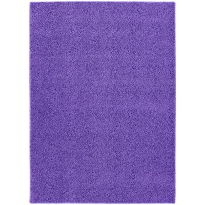 garland shazaam 4foot x 6foot shag area rug in purple