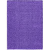Garland Shazaam 5-Foot x 8-Foot Shag Area Rug in Purple
