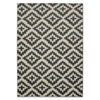Garland Southwest 5-Foot x 7-Foot Area Rug in Cinder/ Ivory