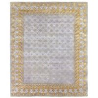 Exquisite Rugs Khotan 8-Foot x 10-Foot Area Rug in Silver/Gold