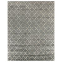 Exquisite Rugs Luxe Look 8-Foot x 10-Foot Area Rug in Silver
