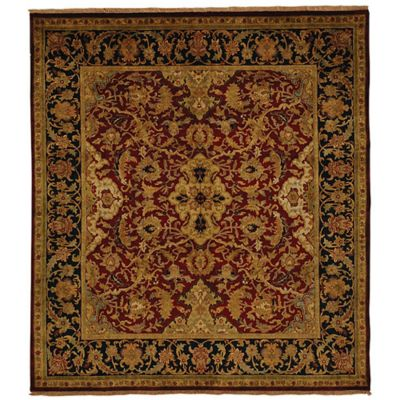 Exquisite Rugs Polonaise 8 Foot X 10 Foot Area Rug In Burgundy