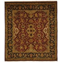 Exquisite Rugs Polonaise 8-Foot x 10-Foot Area Rug in Burgundy