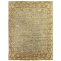 Exquisite Rugs Antique Weave Oushak 8-Foot x 10-Foot Area Rug in Grey/Brown