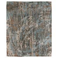 Exquisite Rugs Koda 8-Foot x 10-Foot Area Rug in Blue/Brown