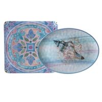 Certified International Ocean Dream Melamine 2-Piece Platter Set