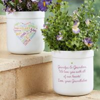 Close to Her Heart Outdoor Flower Pot