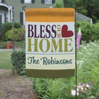 Bless Our Home Garden Flag