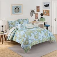 Waverly Kids Buon Viaggio Reversible Twin Comforter Set