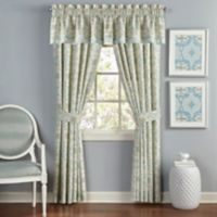 Waverly® Astrid 84-Inch Rod Pocket Lined Window Curtain Panel Pair in Mineral