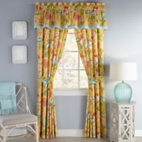 Waverly® Modern Poetic Rod Pocket Window Valance in Sunshine