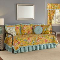 Waverly® Modern Poetic Reversible Daybed Cover Set in Sunshine
