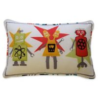 Waverly Kids Robotic Embroidered Throw Pillow