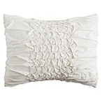 Peri Home Triangle Braid Standard Pillow Sham in Linen